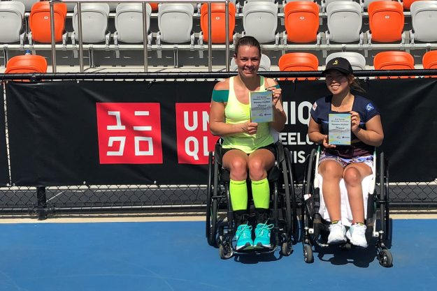 Marjolein – Bendigo Wheelchair Tennis Open