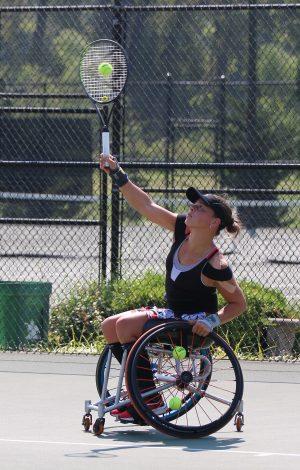 Marjolein – USTA Wheelchair Championships
